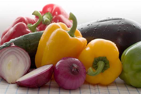 Image of different vegetables